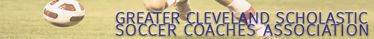 Greater Cleveland High School Soccer Community banner